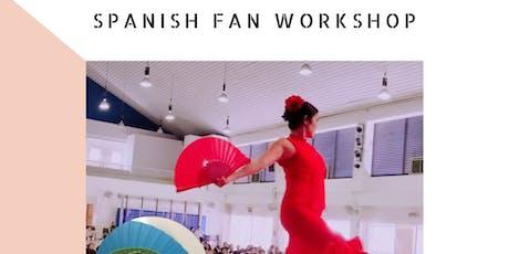 Spanish Fan Workshop tickets