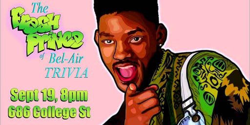Trivia Thursday - The Fresh Prince of Bel Air