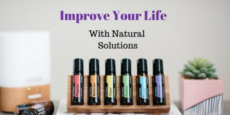 Improve Your Life with Natural Solutions tickets