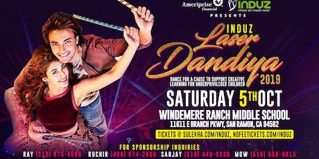 Induz Laser Dandiya 2019 with live Aalap Band tickets