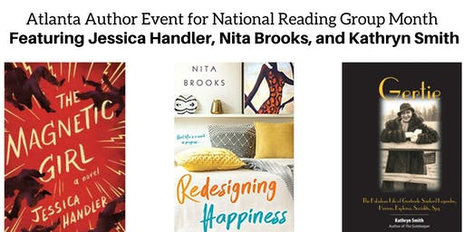 Atlanta Author Event for National Reading Group Month