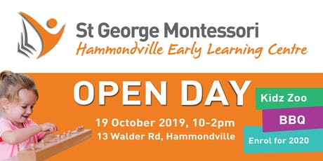 St George Montessori Hammondville Open Day tickets