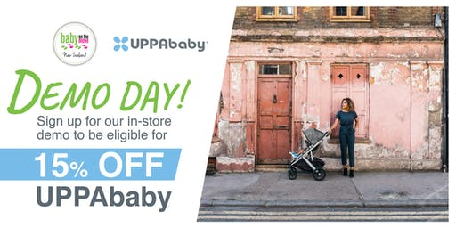 UPPABABY DEMO DAY @ Baby on the Move Wellington, NZ