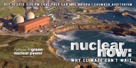 Nuclear Now: Why Climate Can't Wait tickets