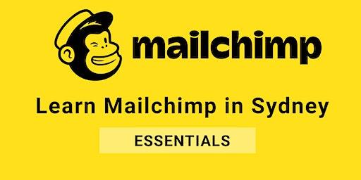 Learn Mailchimp in Sydney (Essentials)