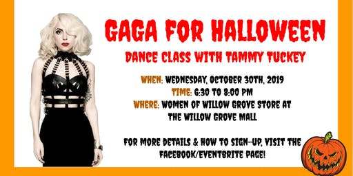 GaGa for Halloween - Dance Class with Tammy Tuckey