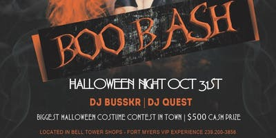 BOO BASH @ SOCIETY