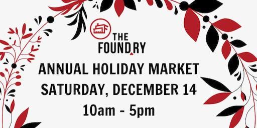 2019 Holiday Market at The Foundry - Vendor Registration