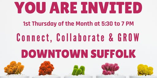 Downtown Suffolk - Connect, Collaborate & GROW