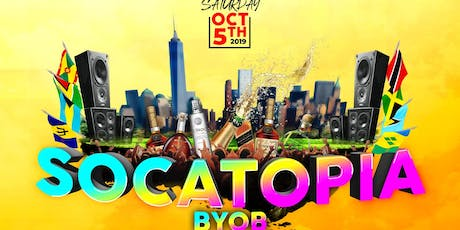 SOCATOPIA BYOB  tickets