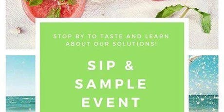 Health & Wellness- Sip and Sample tickets