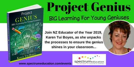 Project Genius Workshop with Karen Tui Boyes - Palmerston North tickets