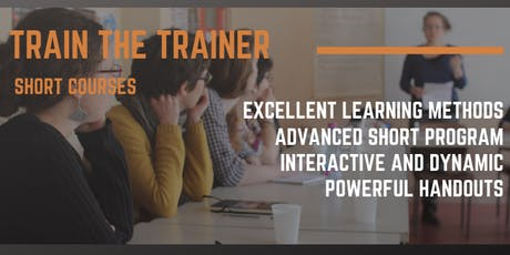 Train the Trainer - Short Course 3 DAYS - Sydney - Intensive Full Training tickets