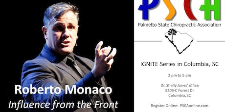 Roberto Monaco and the PSCA in Columbia tickets