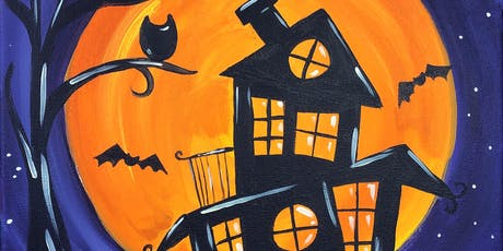 Parent & Child Painting Class - Haunted House tickets