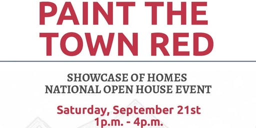 Paint the Town Red Open House Event