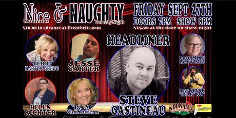 Noonans Nice & Naughty Comedy Night tickets