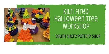 Kiln Fired Halloween Trees tickets