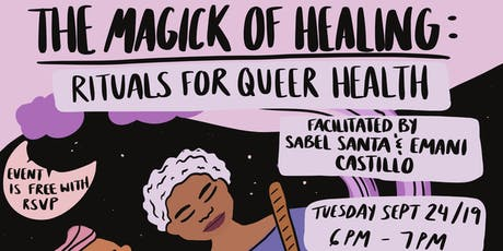 The Magick of Healing: Rituals for Queer Health tickets