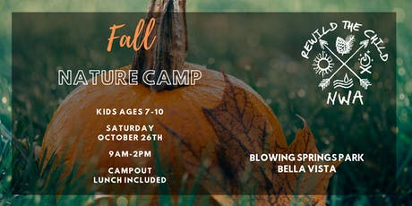 ReWild Fall Nature Camp tickets