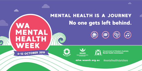 Mental Health Week - BYO  12.00 to 1.00 pm Lunch and Learn Information Sessions @ Westralia Square tickets