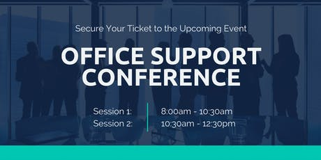 Office Support Conference tickets