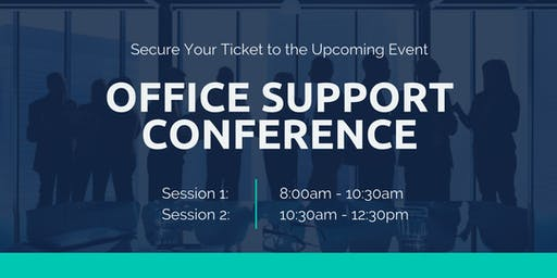Office Support Conference