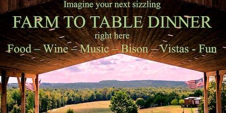 Tatanka Bison Ranch Fall Farm-To-Table Dinner tickets
