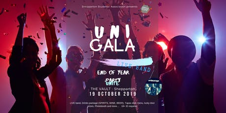 UNI GALA - End of Year Party - La Trobe Shepparton tickets