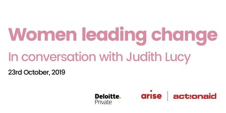 Women Leading Change - In Conversation with Judith Lucy tickets