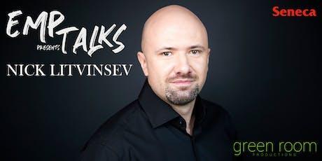 EMP Talks: Nick Litvinsev tickets