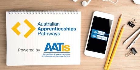 Australian Apprenticeships & Traineeships Information Service - HOBART tickets