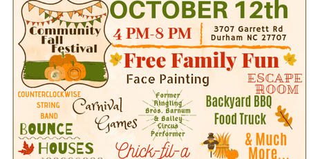 Community Fall Festival @ LifeSpring Church & Cresset Christian Academy tickets