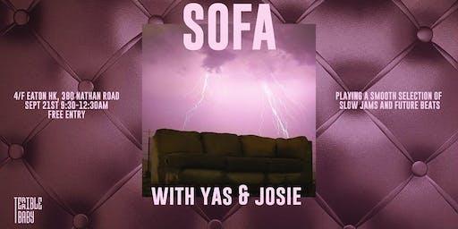 Sofa with Yas & Josie
