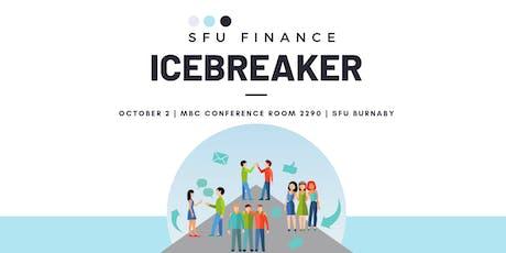SFU Finance Club Icebreaker Event tickets