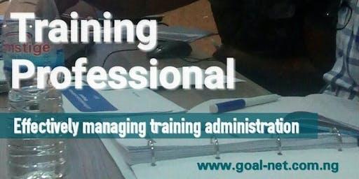Effectively Managing Training Administration