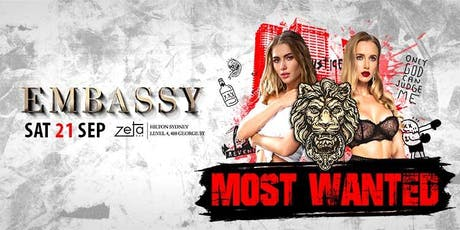 Embassy Presents: Most Wanted tickets