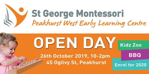 St George Montessori Peakhurst West Open Day