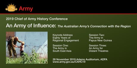 Chief of Army History Conference 2019 tickets