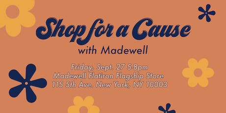 Shop for a Cause at Madewell tickets