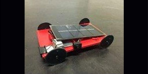 Assemble a solar car and race it on our racetrack.