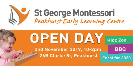 St George Montessori Peakhurst South Open Day