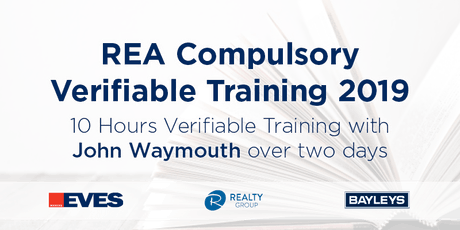 REA COMPULSORY VERIFIABLE TRAINING OCTOBER 2019 - BAY OF PLENTY  tickets