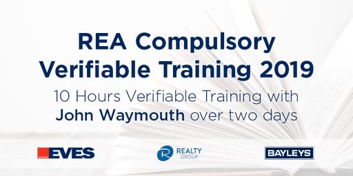 REA COMPULSORY VERIFIABLE TRAINING OCTOBER 2019 - BAY OF PLENTY
