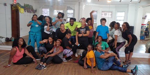 Afro Dance Bootcamp featuring Afro-house!