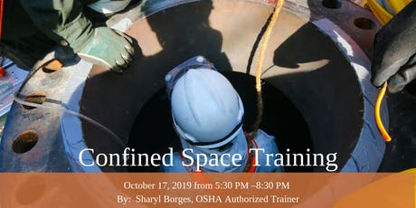 Confined Space Training - October 17, 2019 tickets