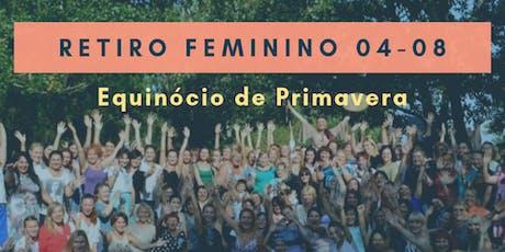 Retiro Feminino - Equinócio de Primavera ingressos