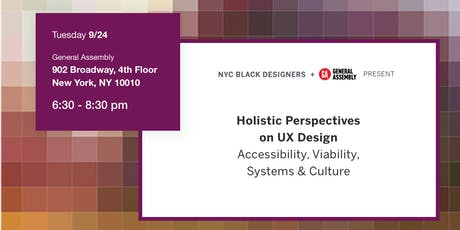 Holistic Perspectives on UX Design tickets