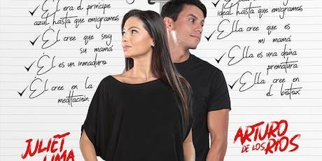 Como vivir en pareja Y No Morir En El Intento Juliet Lima Arturo De Los Rio tickets