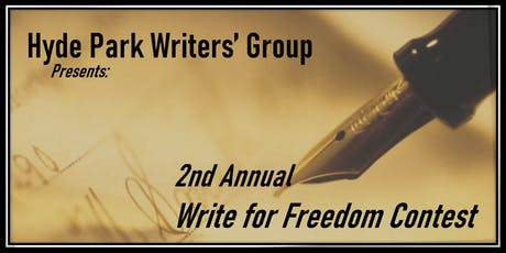 Write For Freedom 2nd Annual Contest tickets